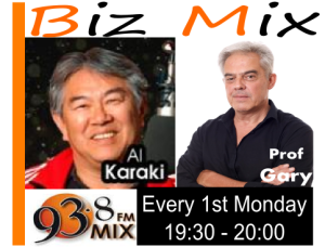 Talk radio Biz talk on Mix 93.8 FM